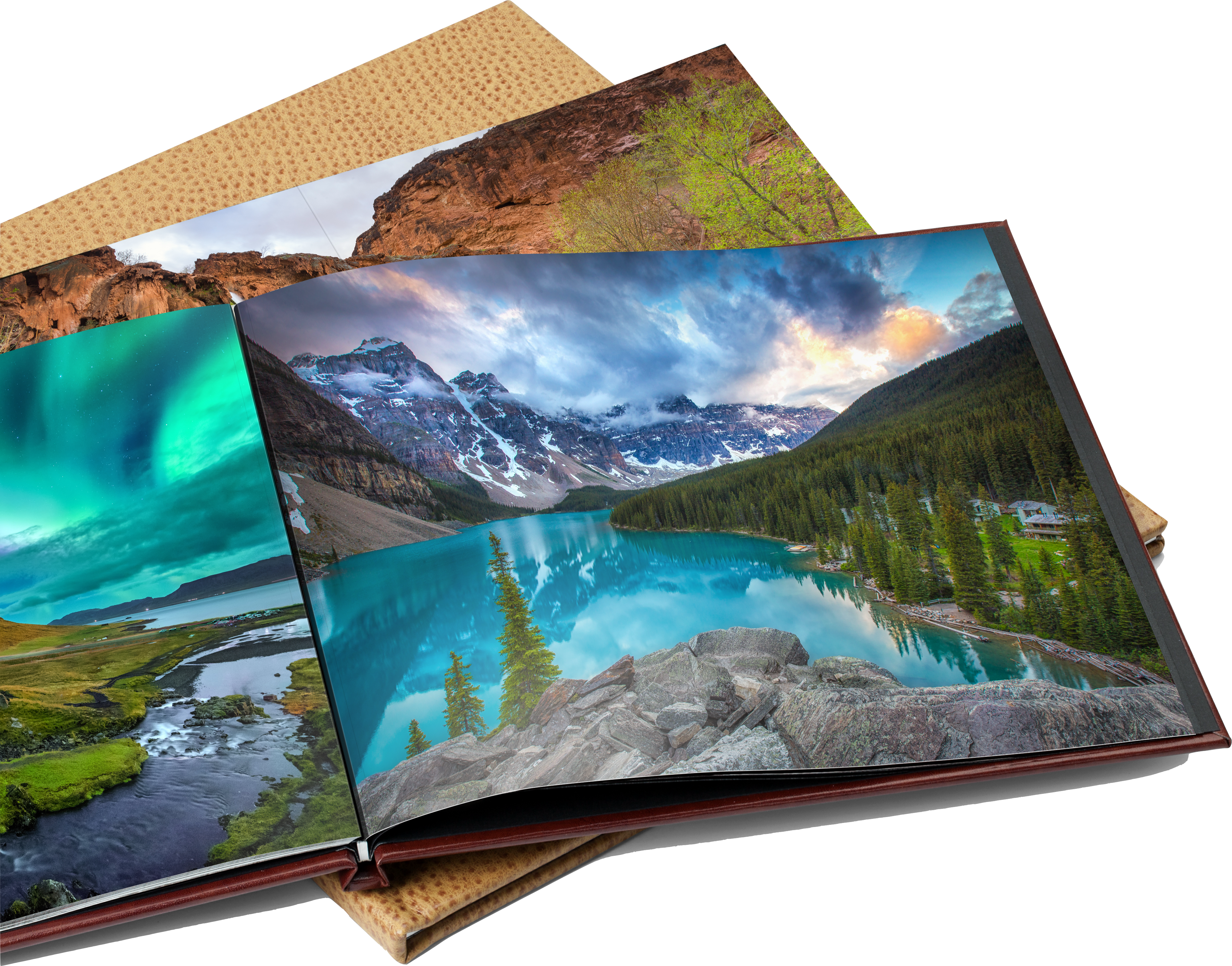 Hardcover, high-quality Bay Photo photo book featuring winners and all finalists