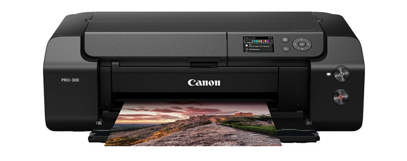 An image of the Canon Pro-300, one of our picks of the best photo printers.
