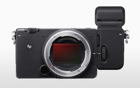 Image of Sigma fp L camera with EVF-11 viewfinder attached