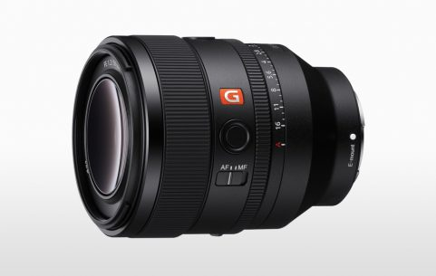 Image of the Sony 50mm F1.2 G Master lens.