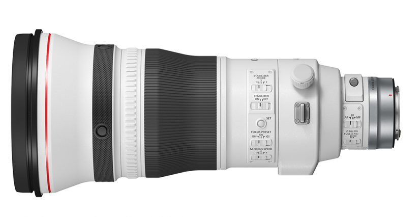 Image of the RF400mm F2.8L IS USM