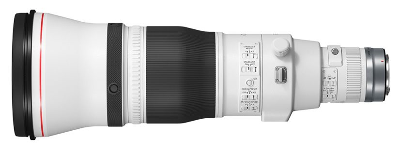 Image of teh Canon RF600mm F4L IS USM