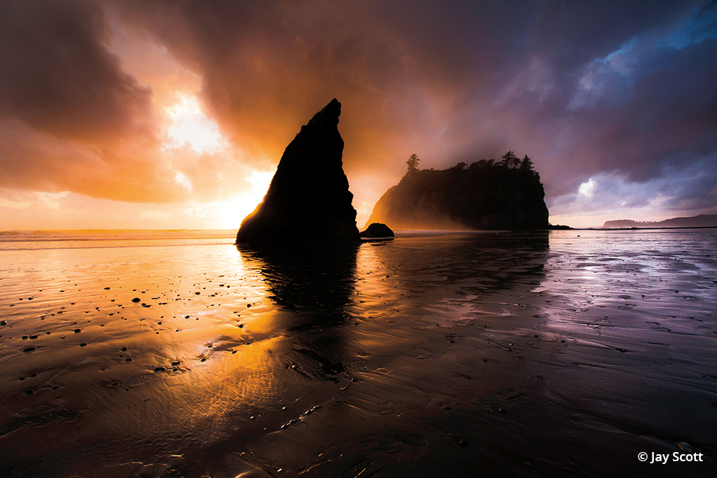 Photo taken at Ruby Beach, Olympic National Park