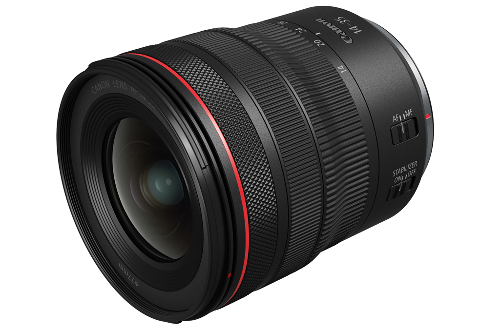 Image of the Canon RF14-35mm F4 L IS USM