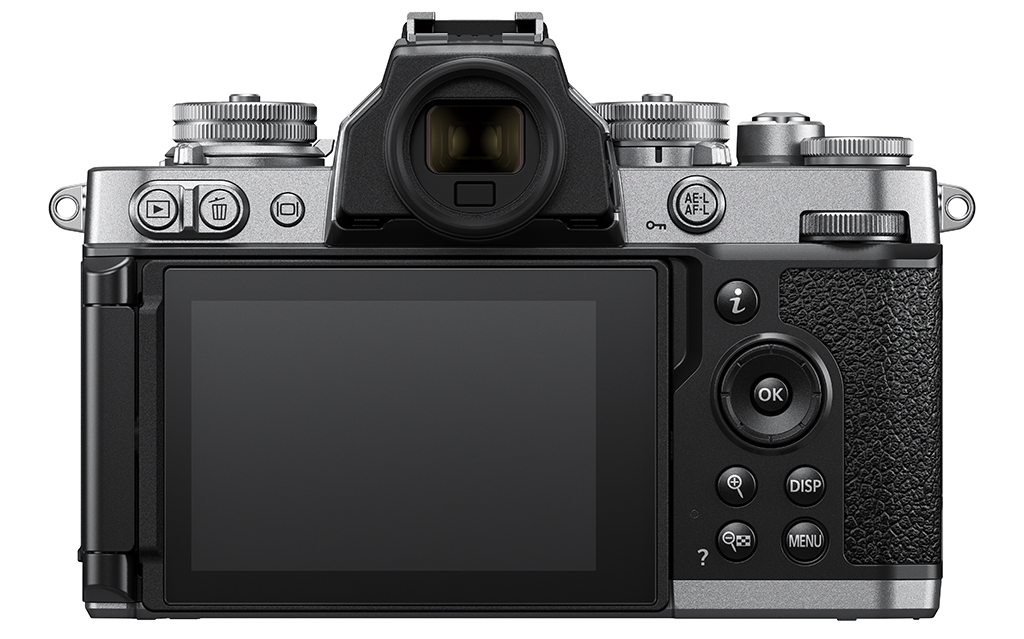 Image of the back of the Nikon Z fc