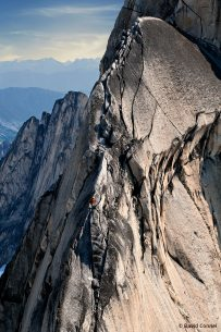 Image of Pigeon Spire in Bugaboo Provincial Park, British Columbia, Canada.