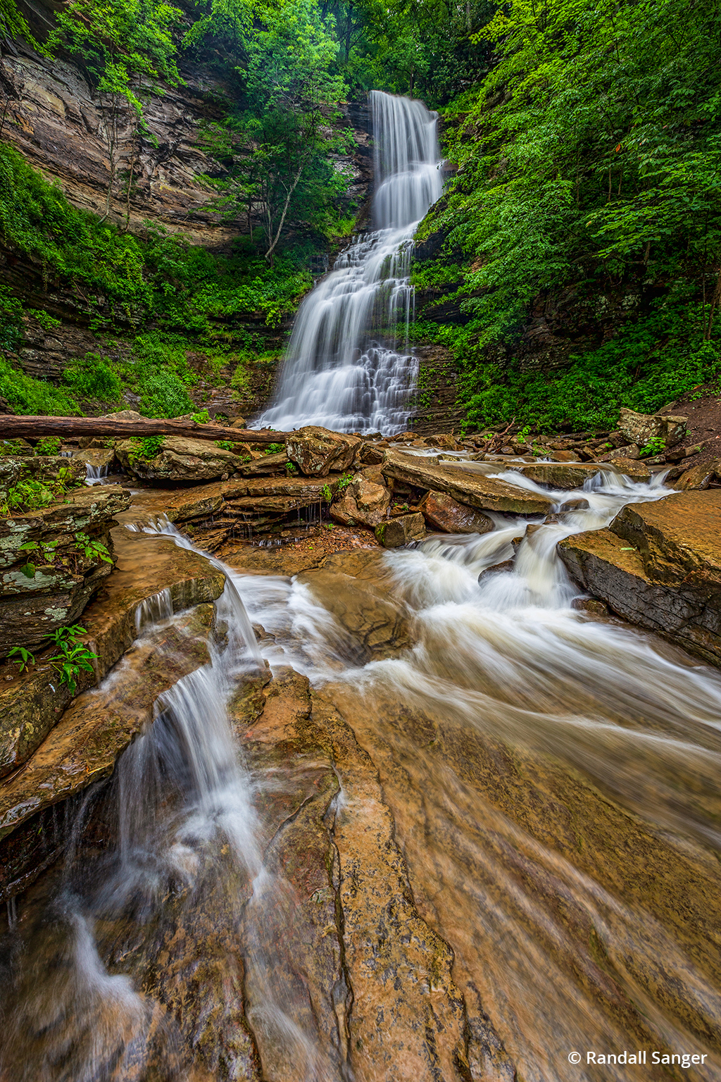 Cathedral Falls in New River Gorge