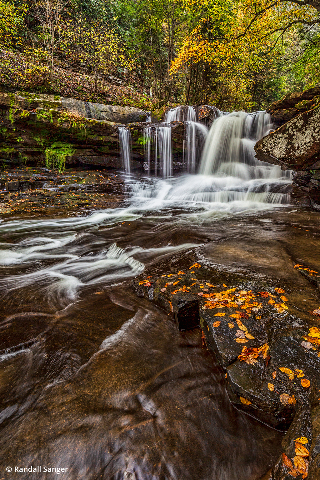 Image of Dunloup Creek Falls in New River Gorge
