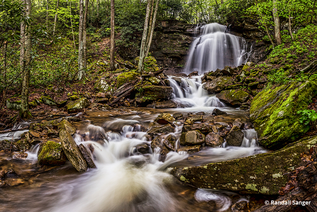 Image of Kate's Branch Falls in New River Gorge