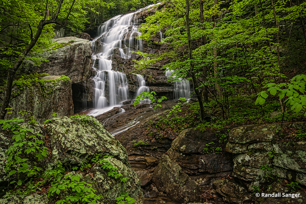 Image of Lower Fern Creek Falls in New River Gorge