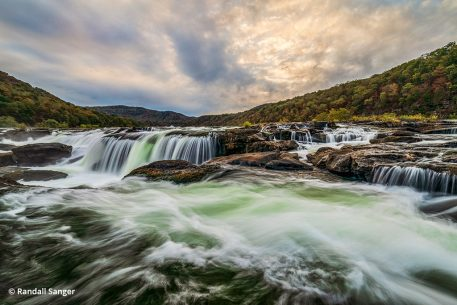 Image of Sandstone Falls in New River Gorge