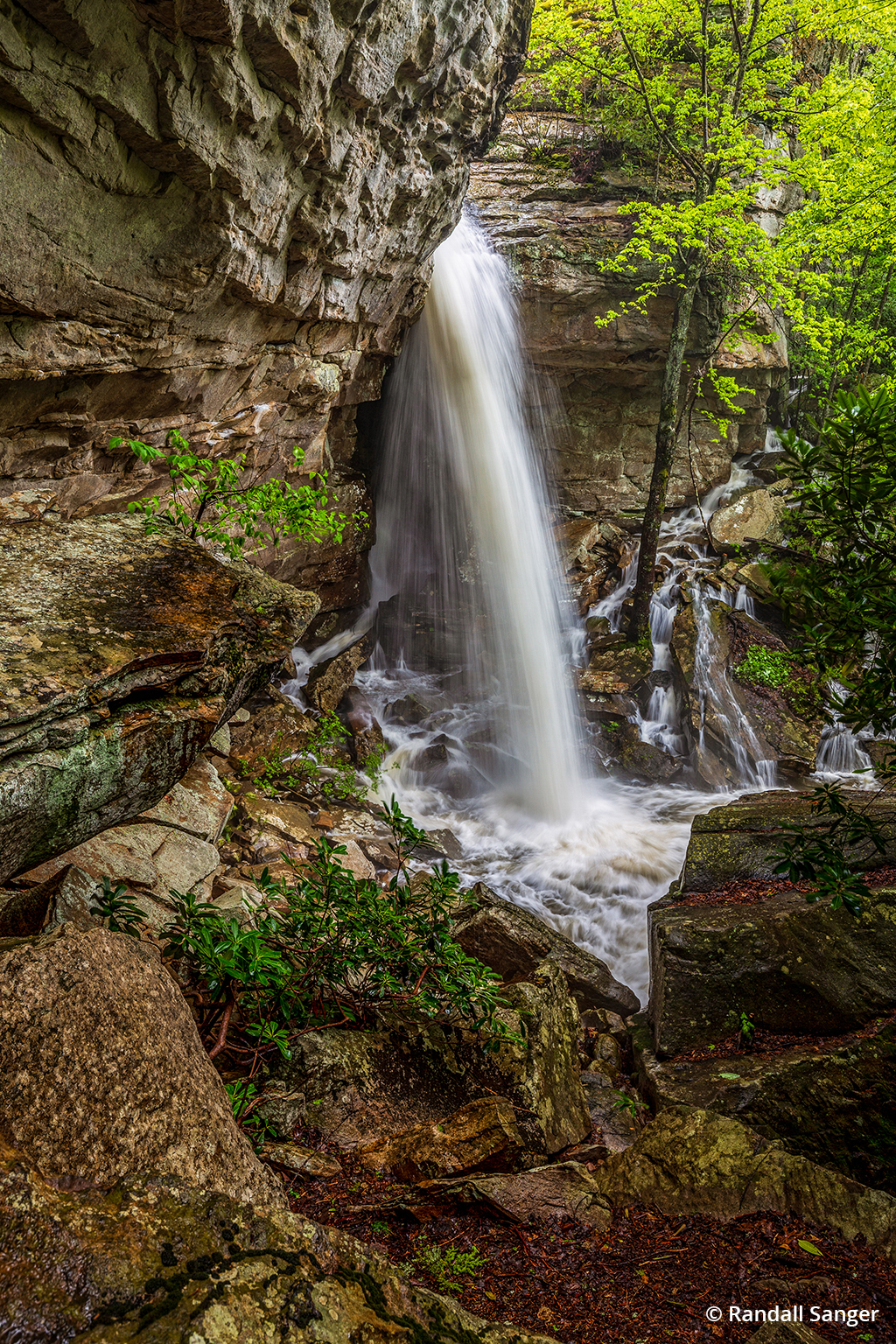 Image of Upper Fern Creek Falls in New River Gorge