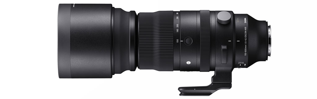 Image of the Sigma 150-600mm Sports lens