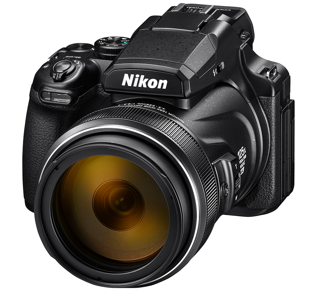 Image of the Nikon COOLPIX P1000 superzoom camera