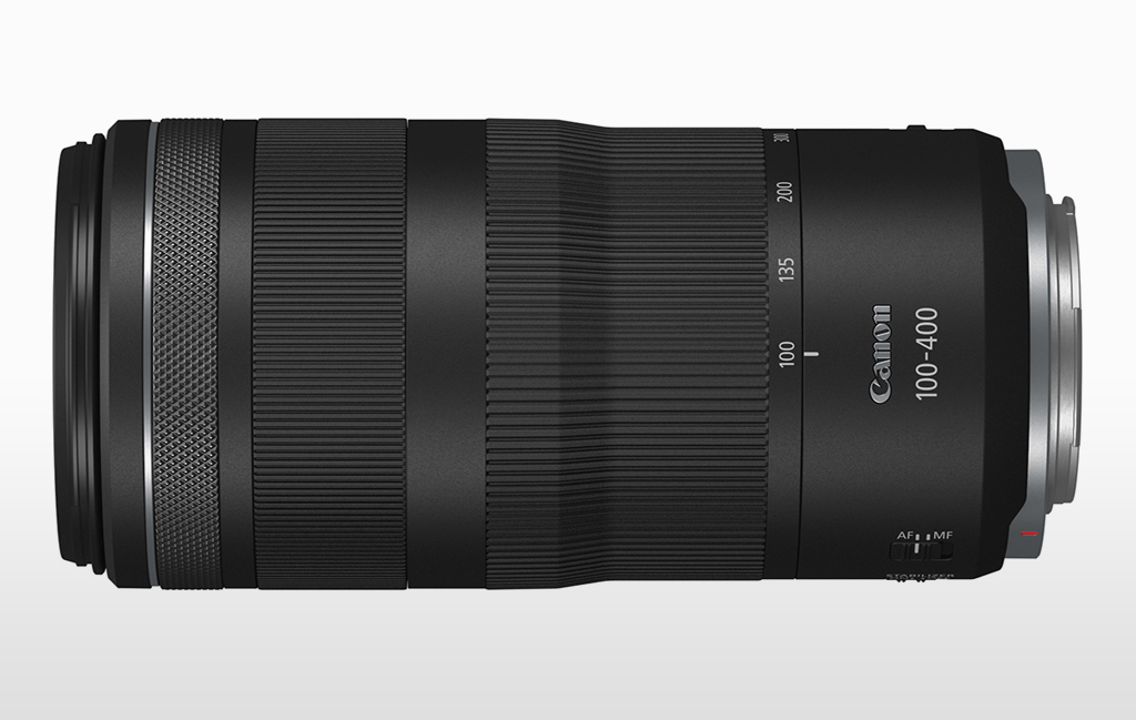 Image of the Canon RF 100-400mm lens