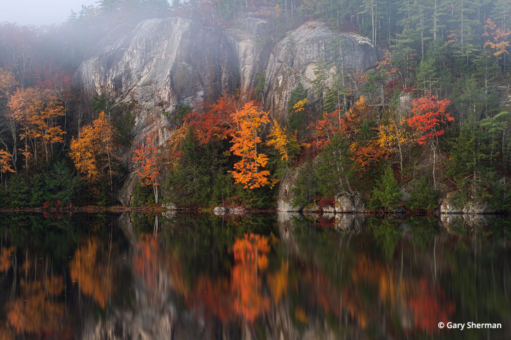Stonehouse Pond Reflections By Gary Sherman