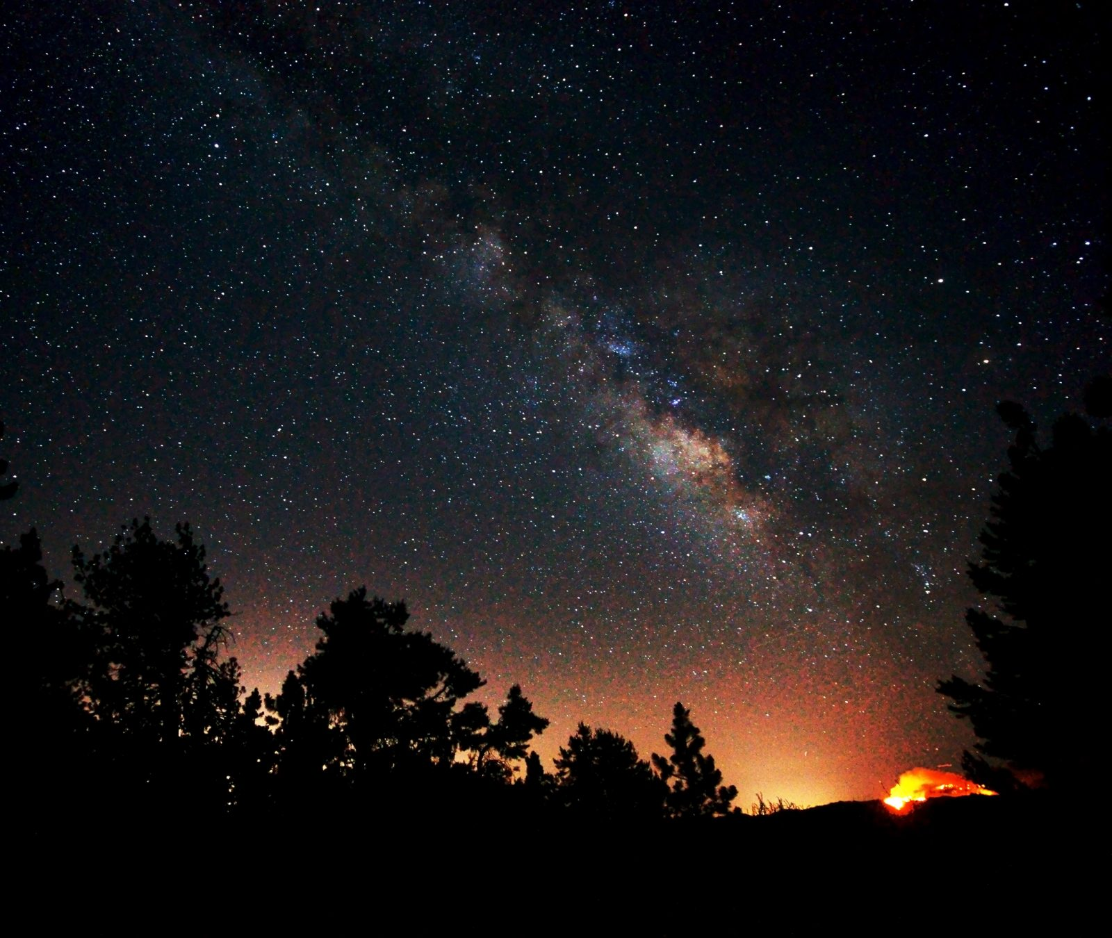 Wildfire Milky Way