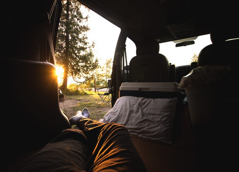 Evening in the Van