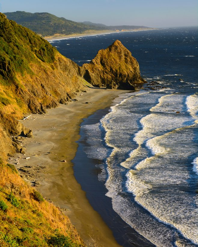 Coast near Ophir, Oregon