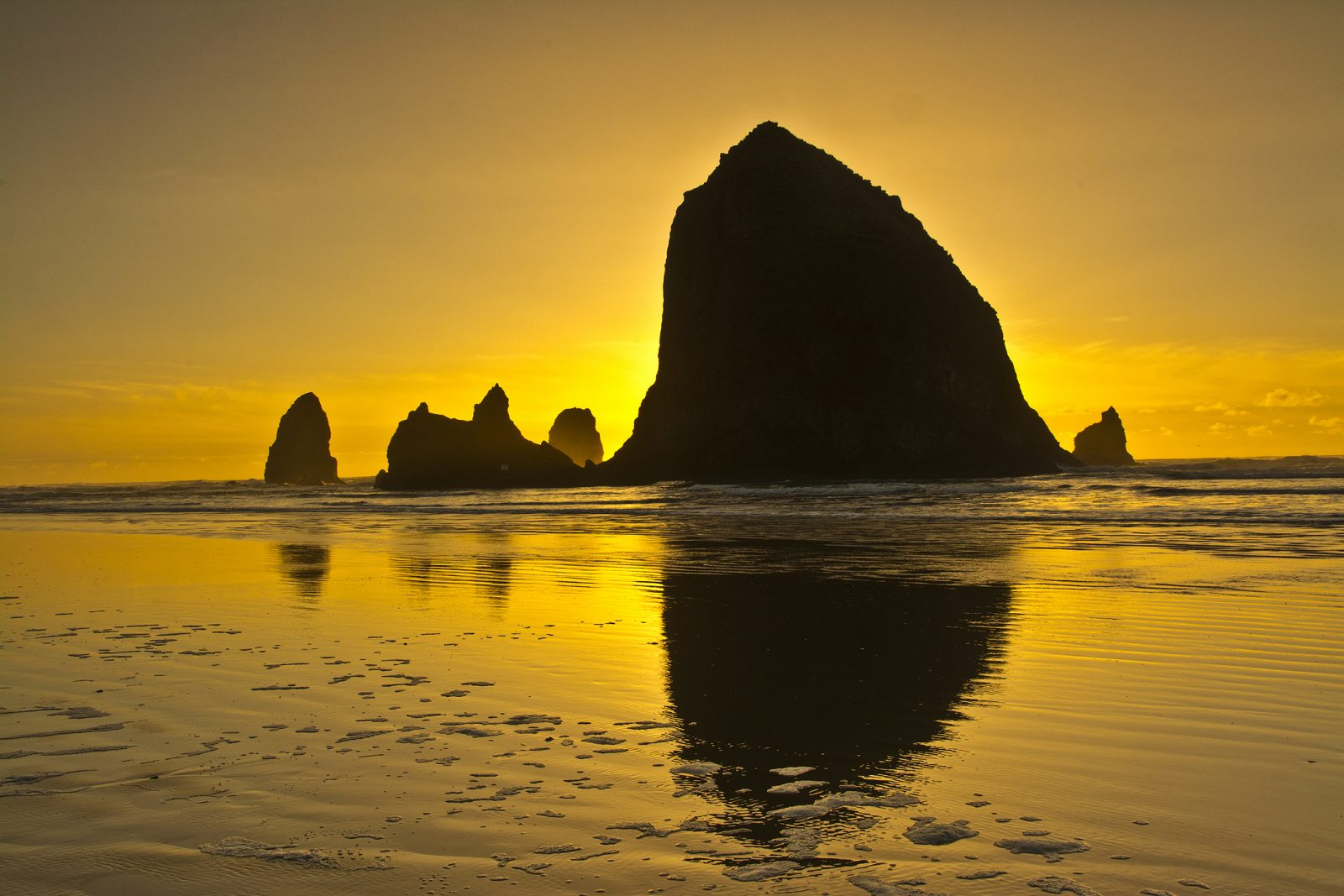 High Tide at Cannon Beach