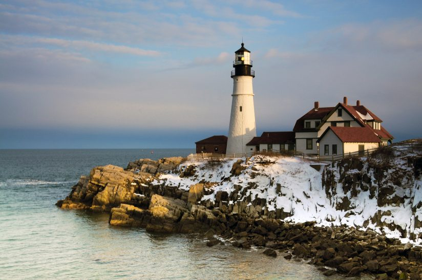 Portland Head in Winter