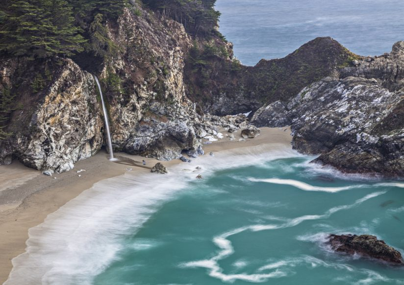 California Coast- Waterfall