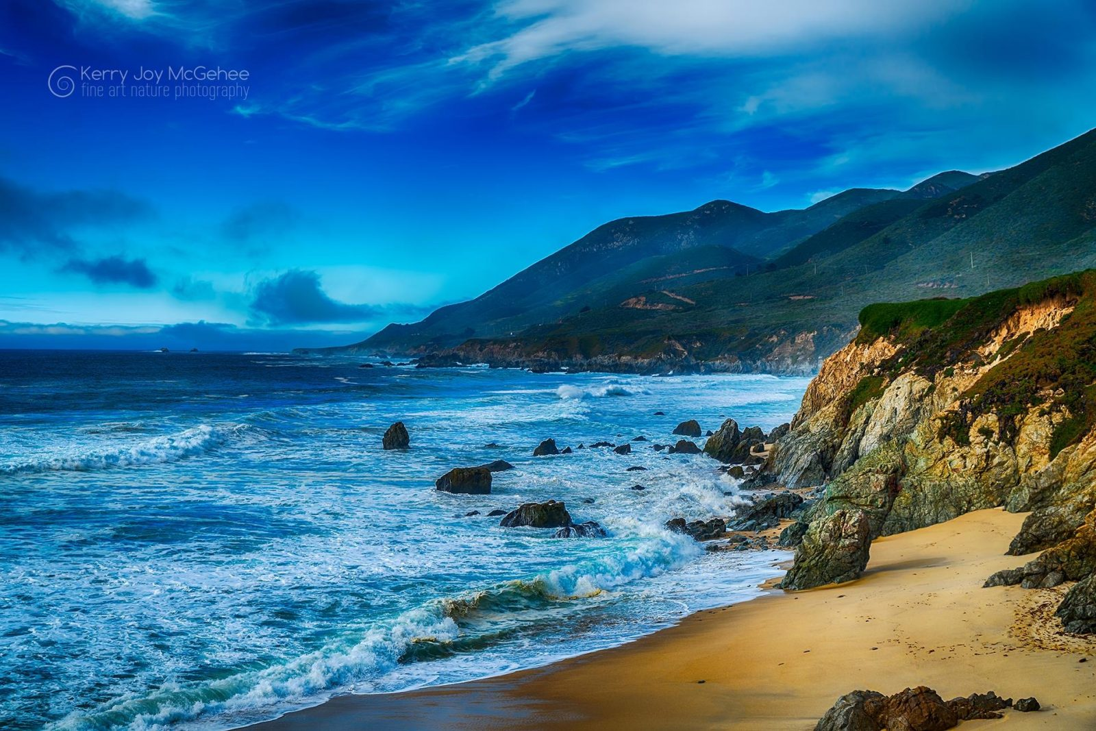 Big Sur and the Pacific
