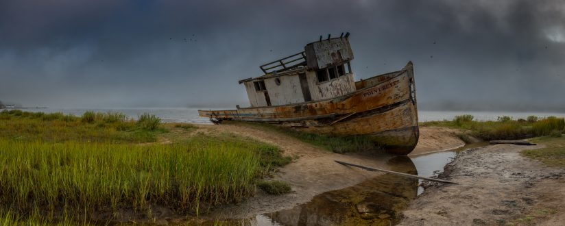 Abandoned On The Shore