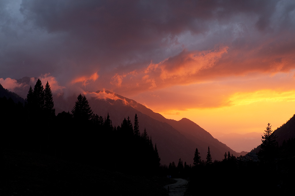 Little Cottonwood Canyon Sunset