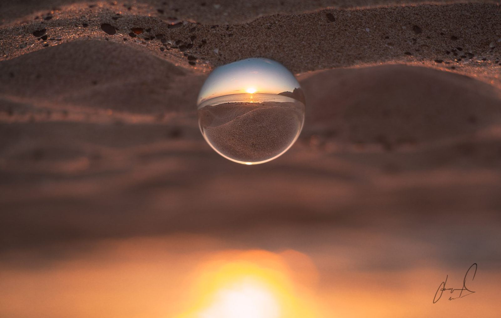 Crystal Ball Sunset