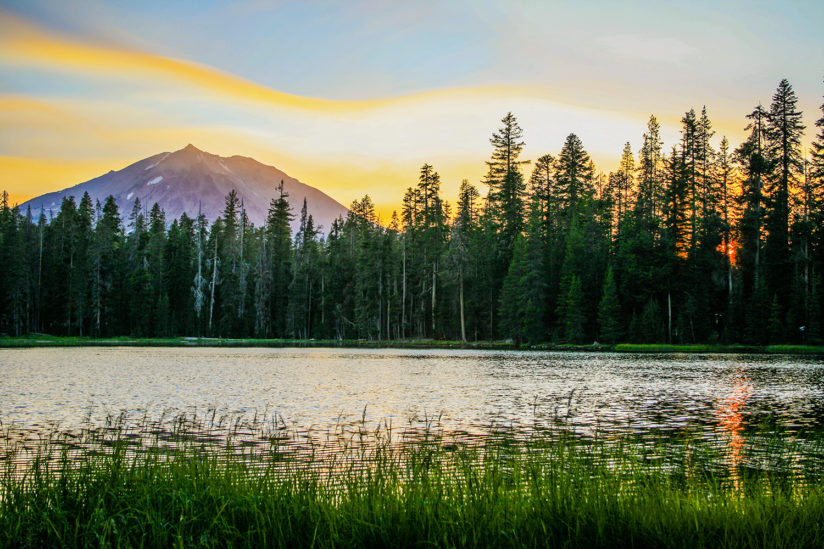Mt. Lassen Sunset