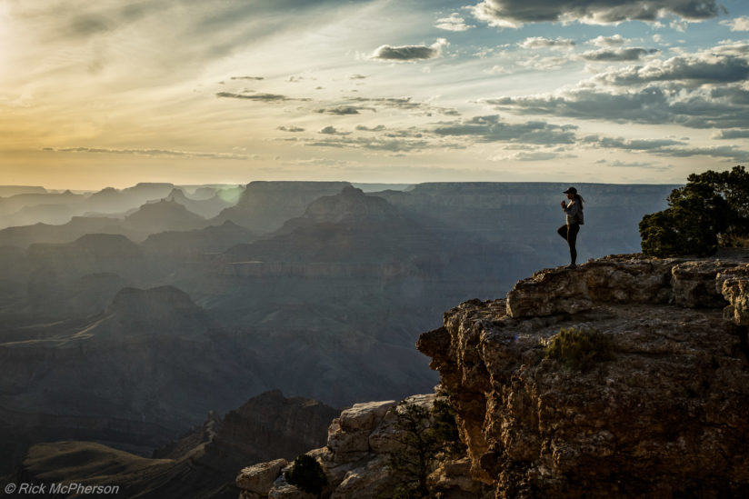 Yoga at Grand Canyon