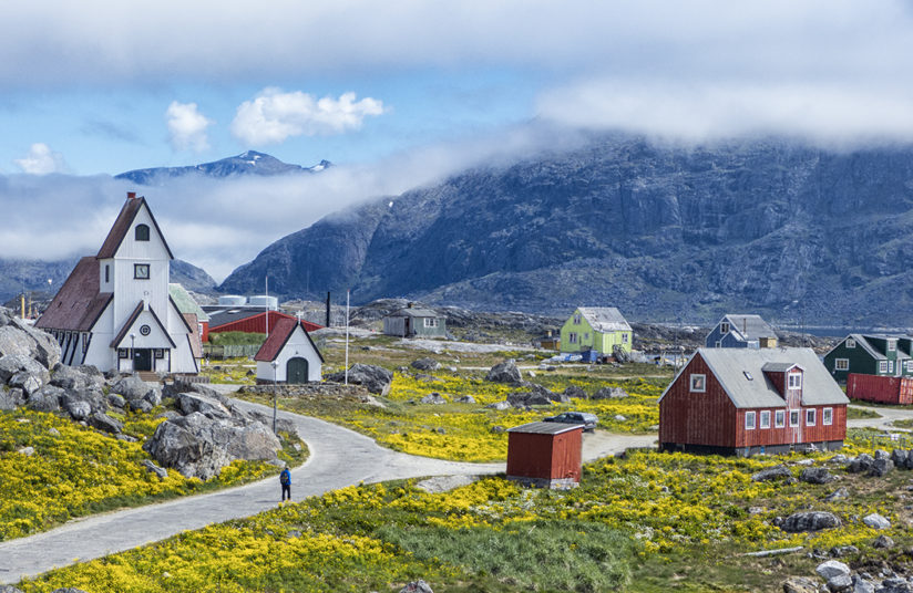 Small town Greenland