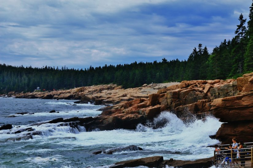 High Tide at Thunder Hole