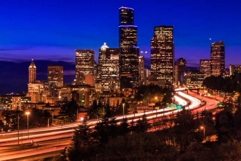 blue Hour Seattle