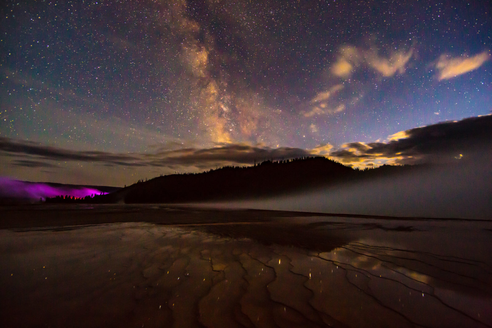 Grand Prismatic Milky Way