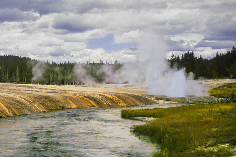 Cliff Geyser & Iron Creek
