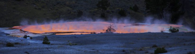 The Hot Springs of Mammoth