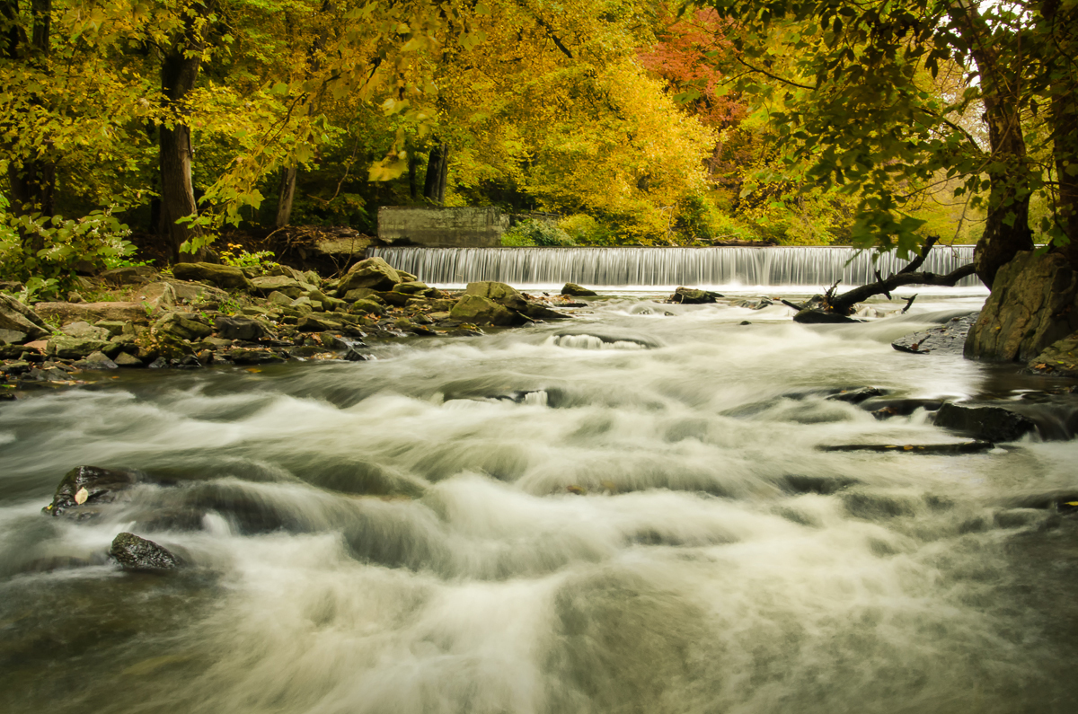 Hoope's Falls in the Autumn