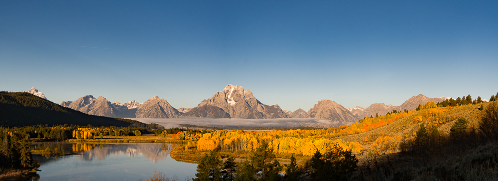 Oxbow Bend in the fall