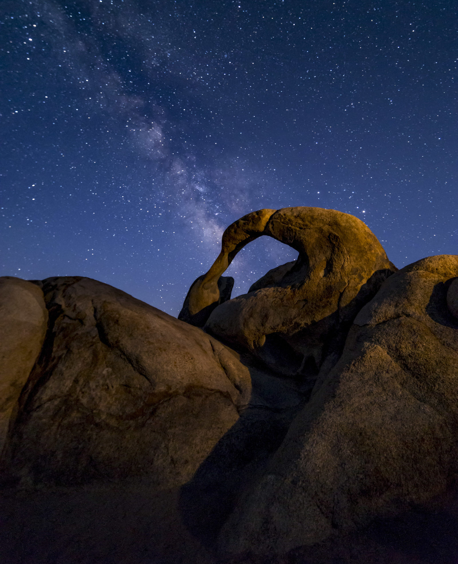 Milky Way over Mobius Arch