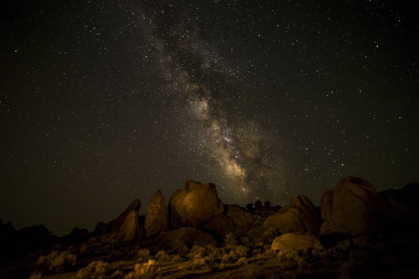 Milky Way over Alabama Hills
