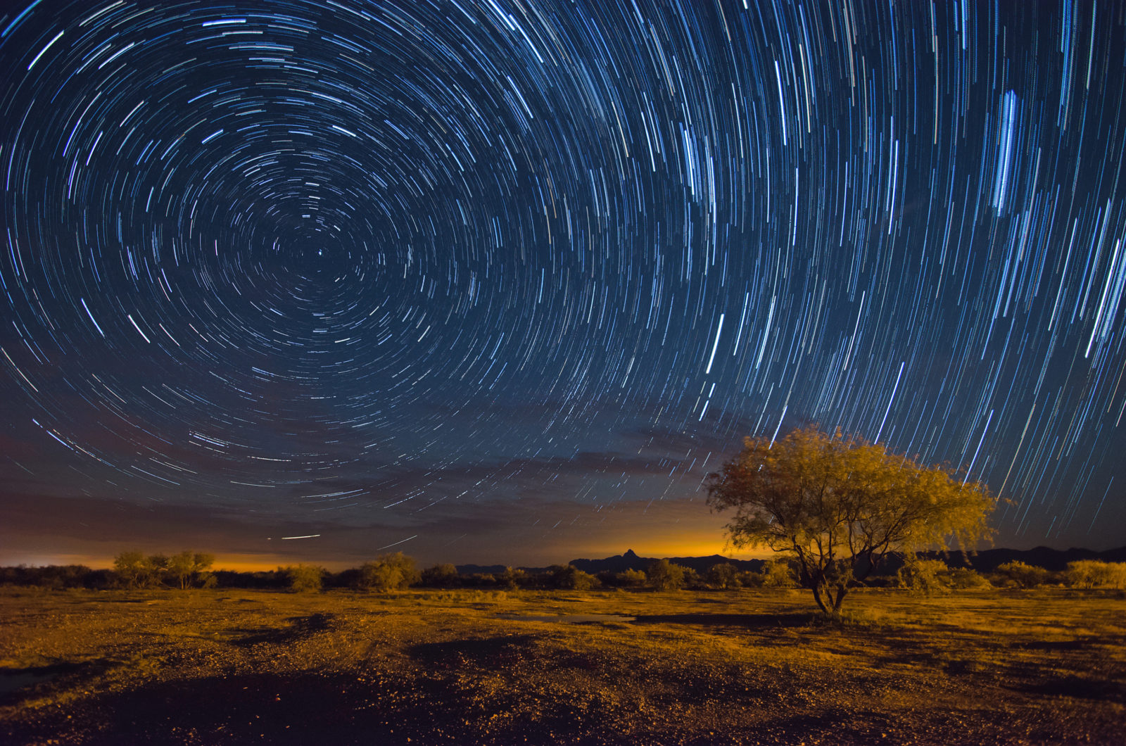 Baboquivari Star Trails