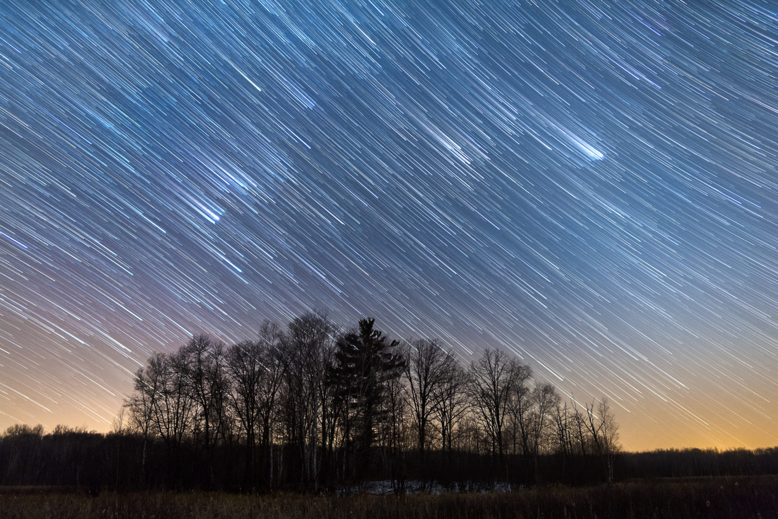 Star Trails Over Ruff-Nik
