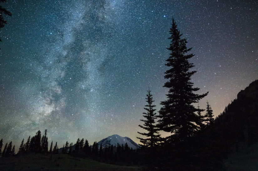 Milky Way from Chinook Pass