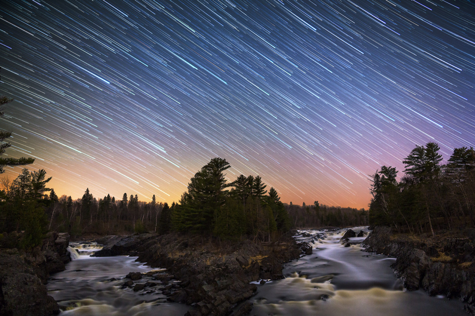 Jay Cooke Star Trails