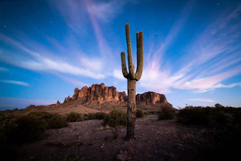 Saguaro and the Superstitions