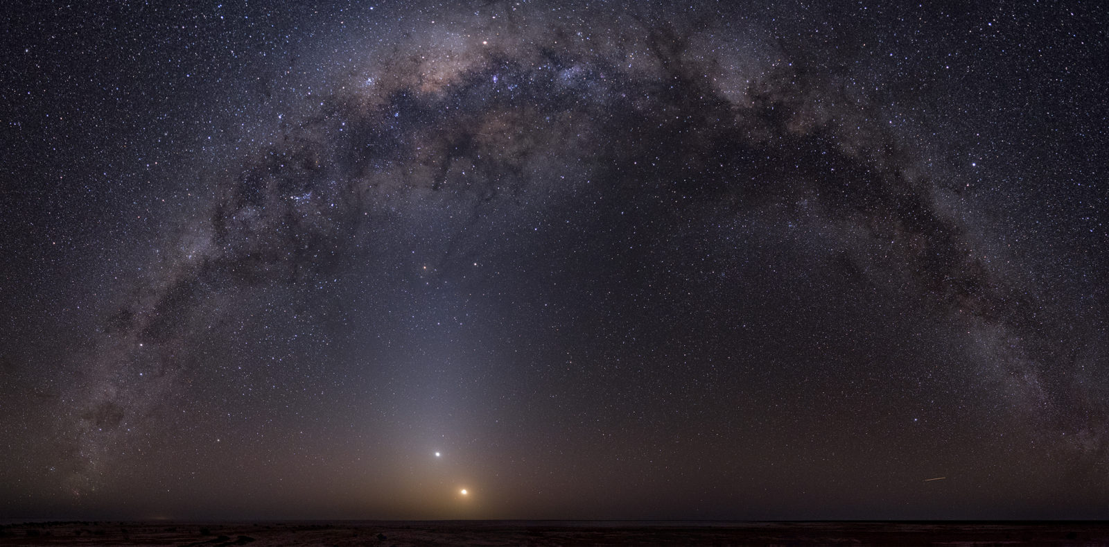 Milky Way over Lake Eyre