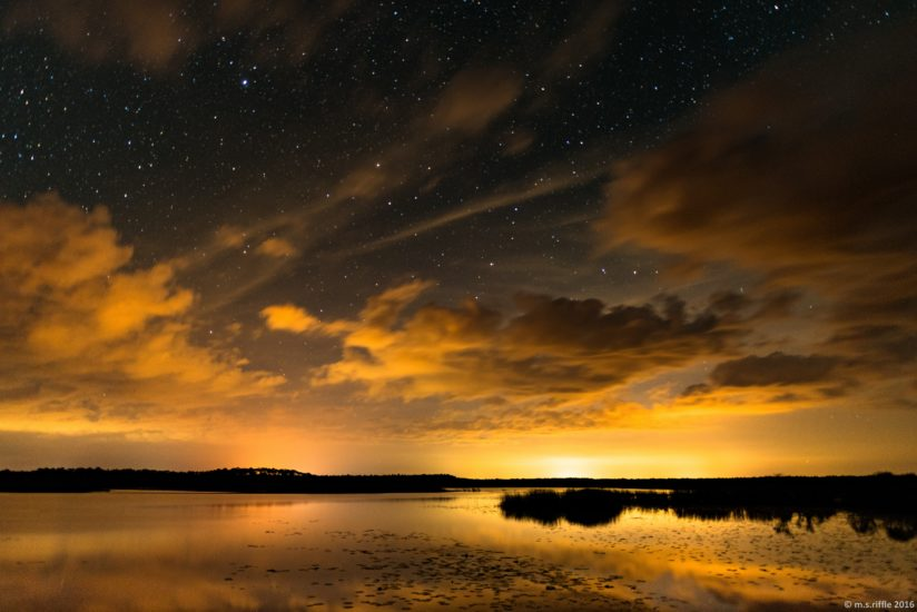 Night Sky at the Refuge