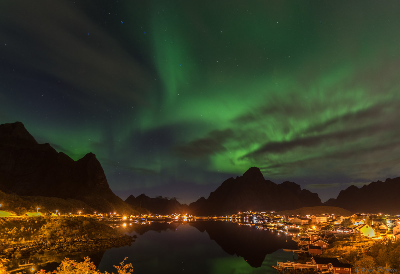 Northern Lights over Reine